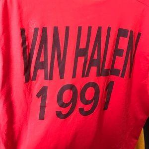 GRAIL 🚨 RARE Single stitch 1991 Van Halen tee